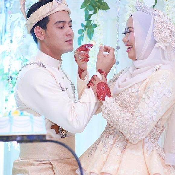 Sekitar Resepsi Perkahwinan Hafidz Roshdi, Nurul Shuhada