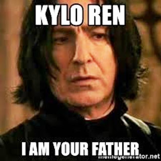 Severus Snape - Kylo Ren I am your father!
