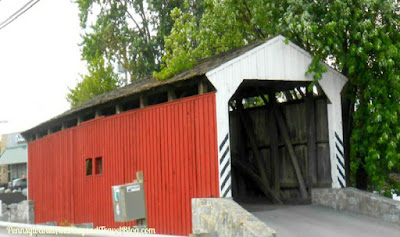 Willow Hill Covered Bridge in Lancaster County