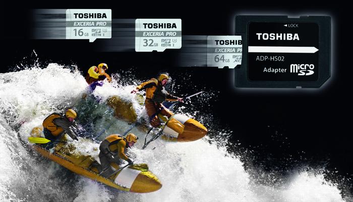 TOSHIBA EXCERIA PRO M501 press image 広告画像
