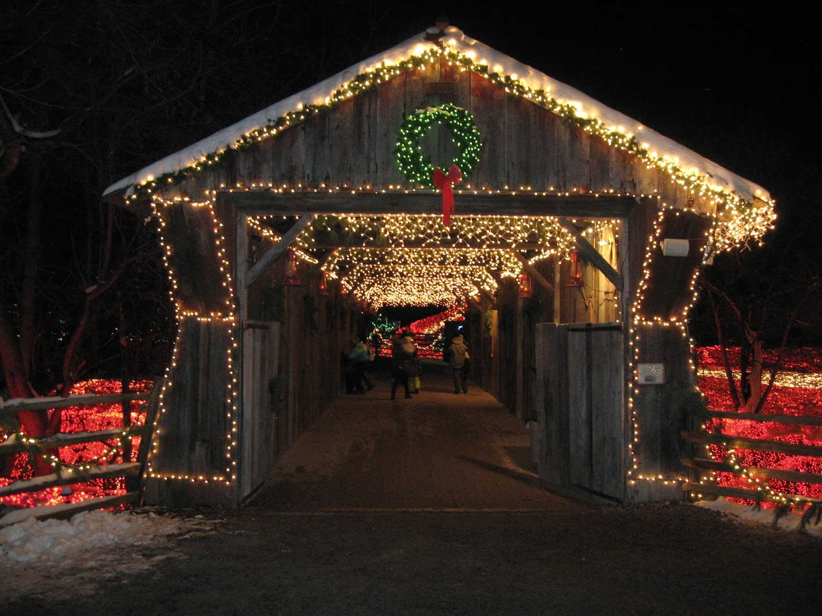 Clifton Mill Christmas Lights.The Merry Dressmaker The Lights At Clifton Mill