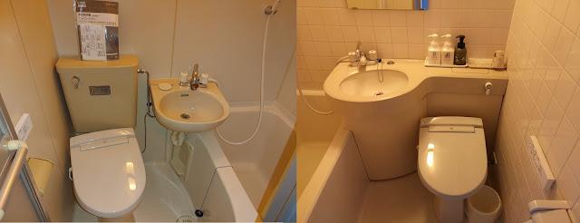 3点ユニットバス内 シャワートイレ設置例