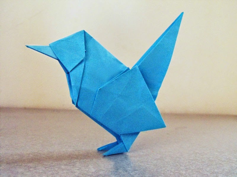 Origami FOX EASY - Yakomoga Origami easy tutorial - YouTube | 600x800