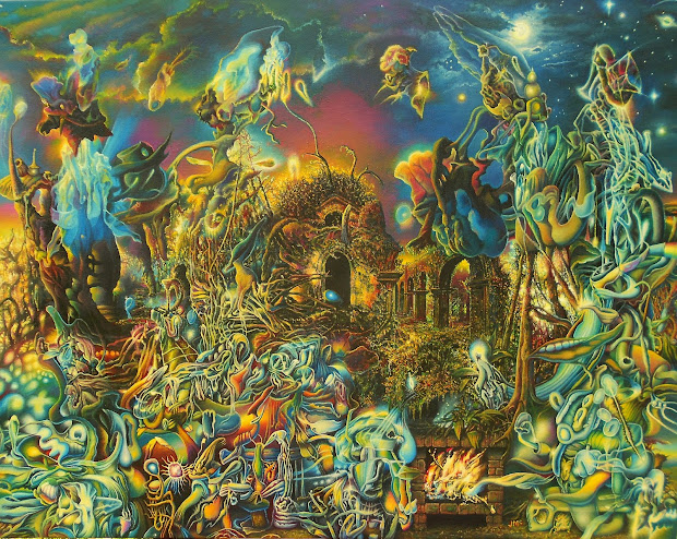 Beautiful Psychedelic Women Art