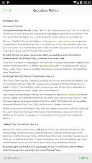 Cara Daftar WeChat Untuk Login King Of Glory / AOV Versi China