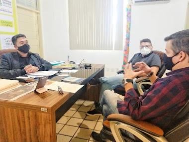Rubens Nascimento visita secretário de Assistência Social e discute projetos do setor