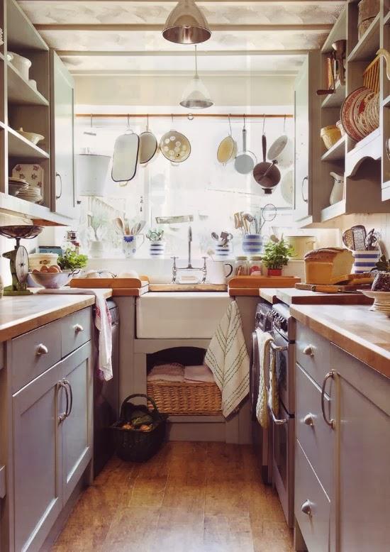 Querido ref gio blog de decora o cozinha pequena for Case inglesi interni