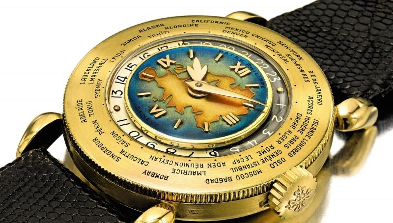 d8b96d446df Estação Cronográfica  Relógio Patek Philippe Horas do Mundo poderá ...