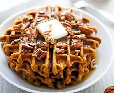 Pecan Pie Waffles Recipe