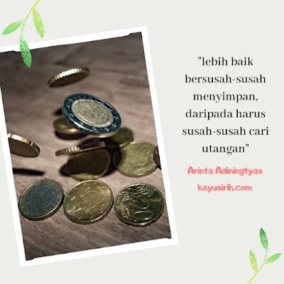 Quote tentang menabung