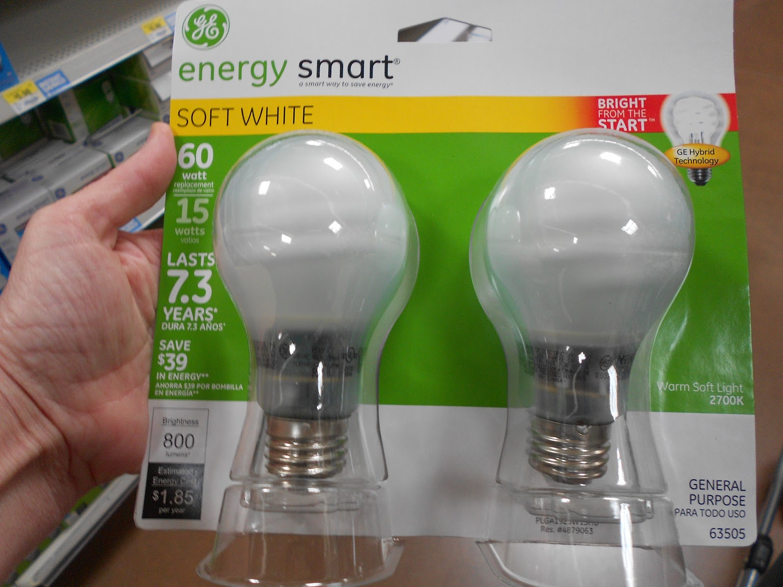 Ge Bulbs Energy Light Saving
