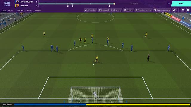 Imagem do Football Manager 2020