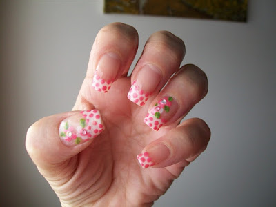 Nail Art Dotted Tips