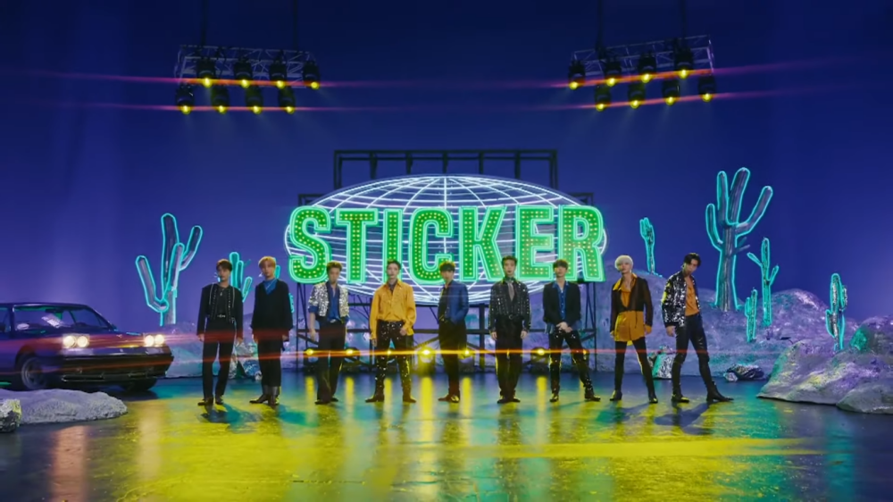 NCT 127 Makes First Appearance With 'Sticker' on 'The Late Late Show With James Corden'