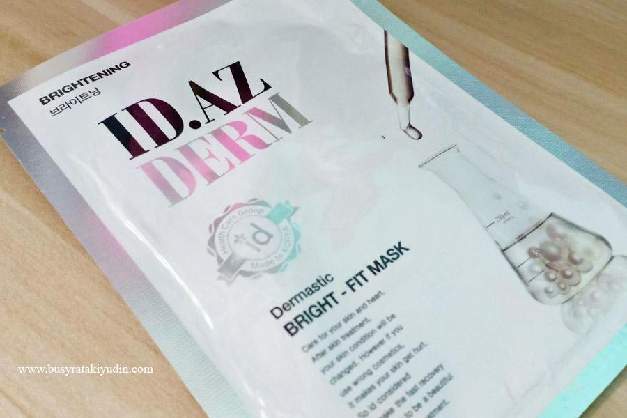 ID.AZ mask, produk ID.AZ, sheet mask, mask korea, idaz malaysia, butterflymsia,