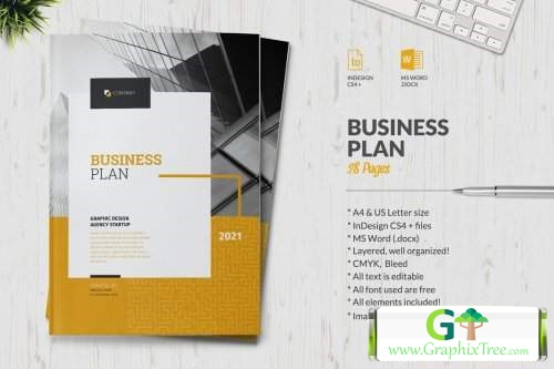 Business Plan 5408461 [Powerpoint] [Indesign & Powerpoint]