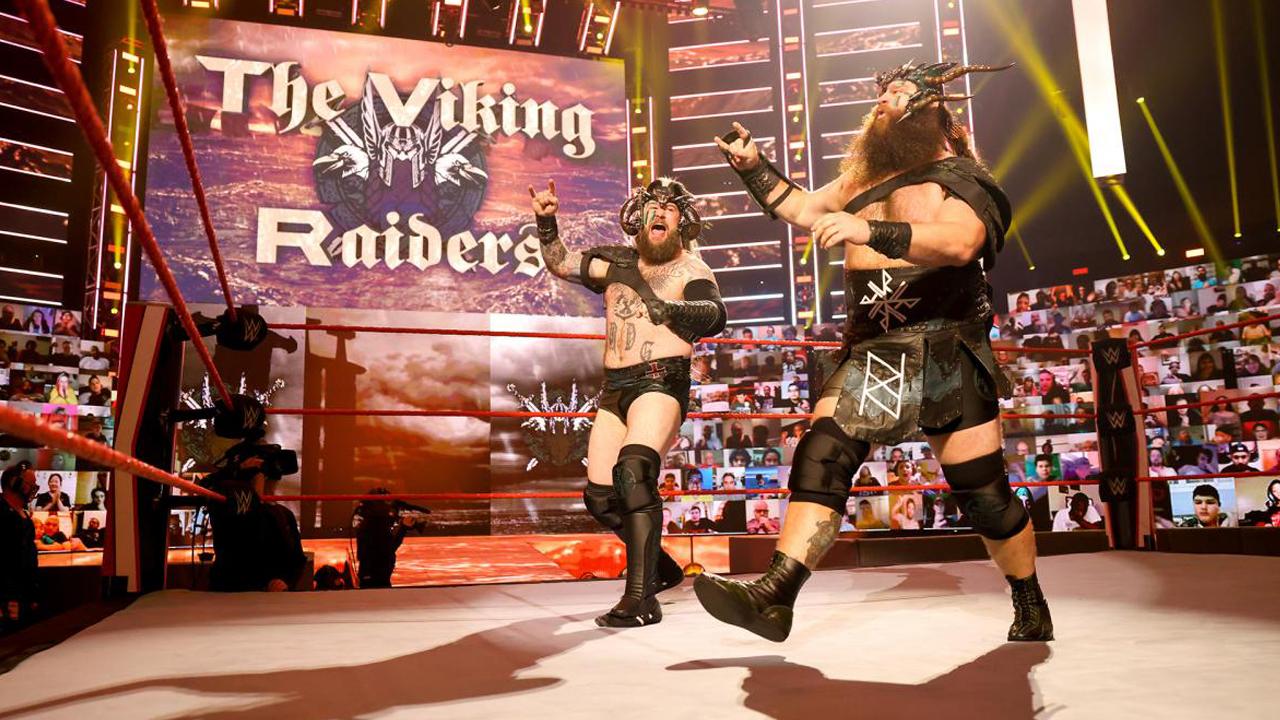Viking Raiders são os novos desafiantes ao RAW Tag Team Championship