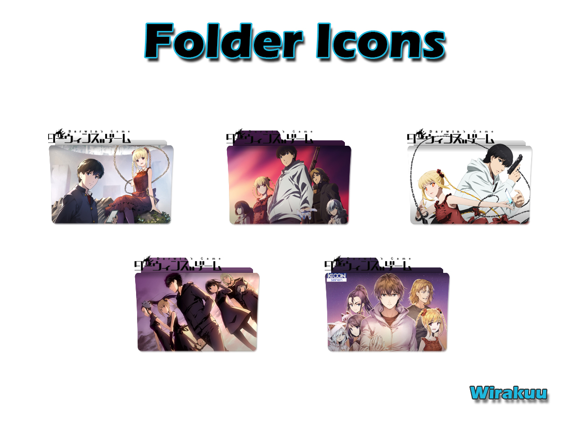 Download Folder Icons Anime Darwin's Game