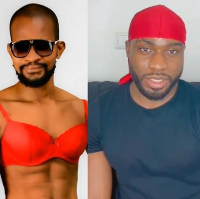 """I no be your mate. I was gay before you were born""- Uche Maduagwu slams Bolu Okupe"