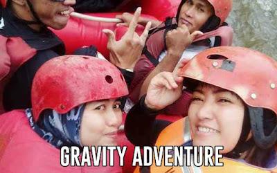 Rafting di Pangalengan Gravity Adventure