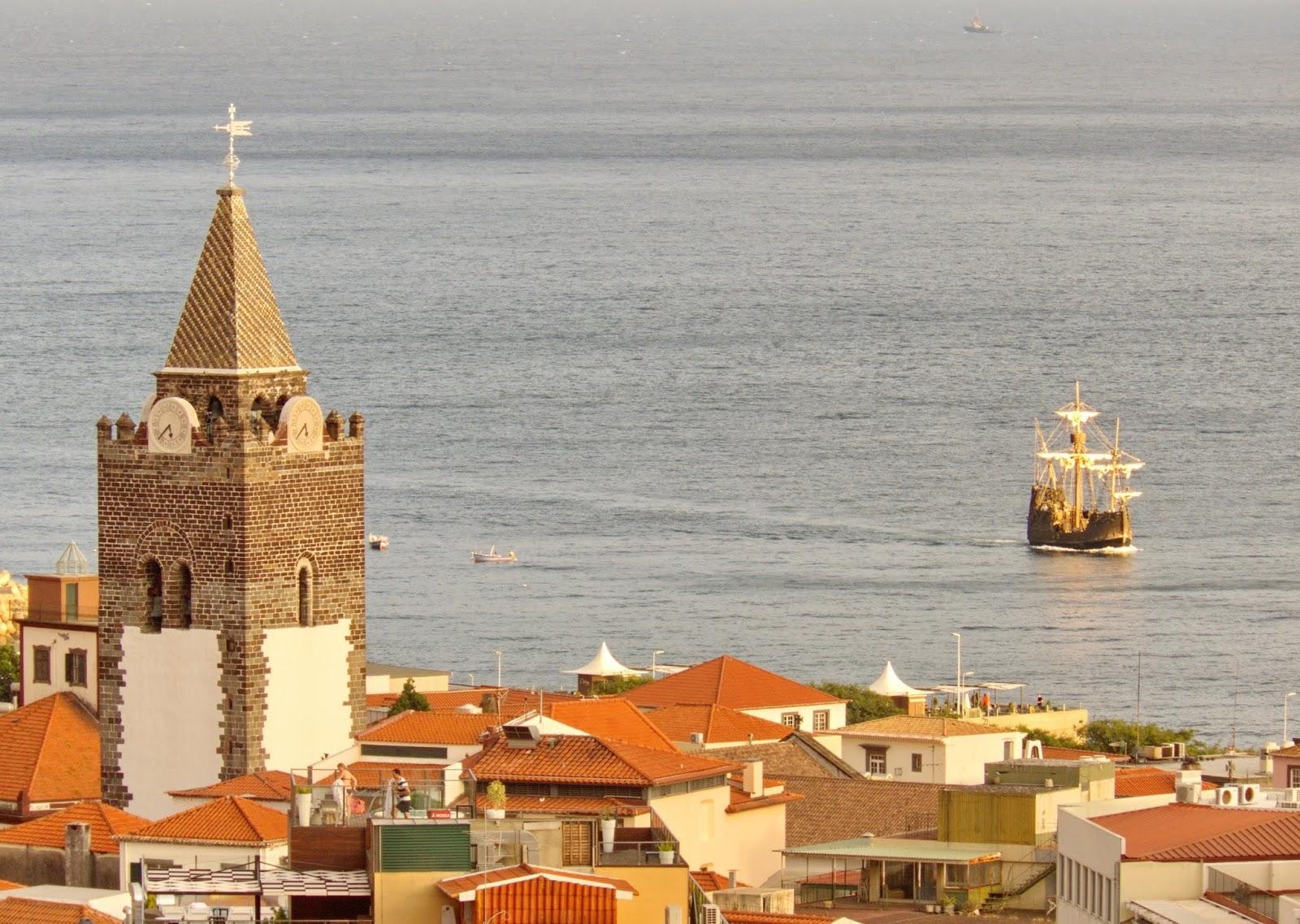 a nau Santa Maria e a Sé
