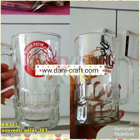 souvenir gelas 165