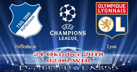 Prediksi Bola855 Hoffenheim vs Lyon 24 Oktober 2018