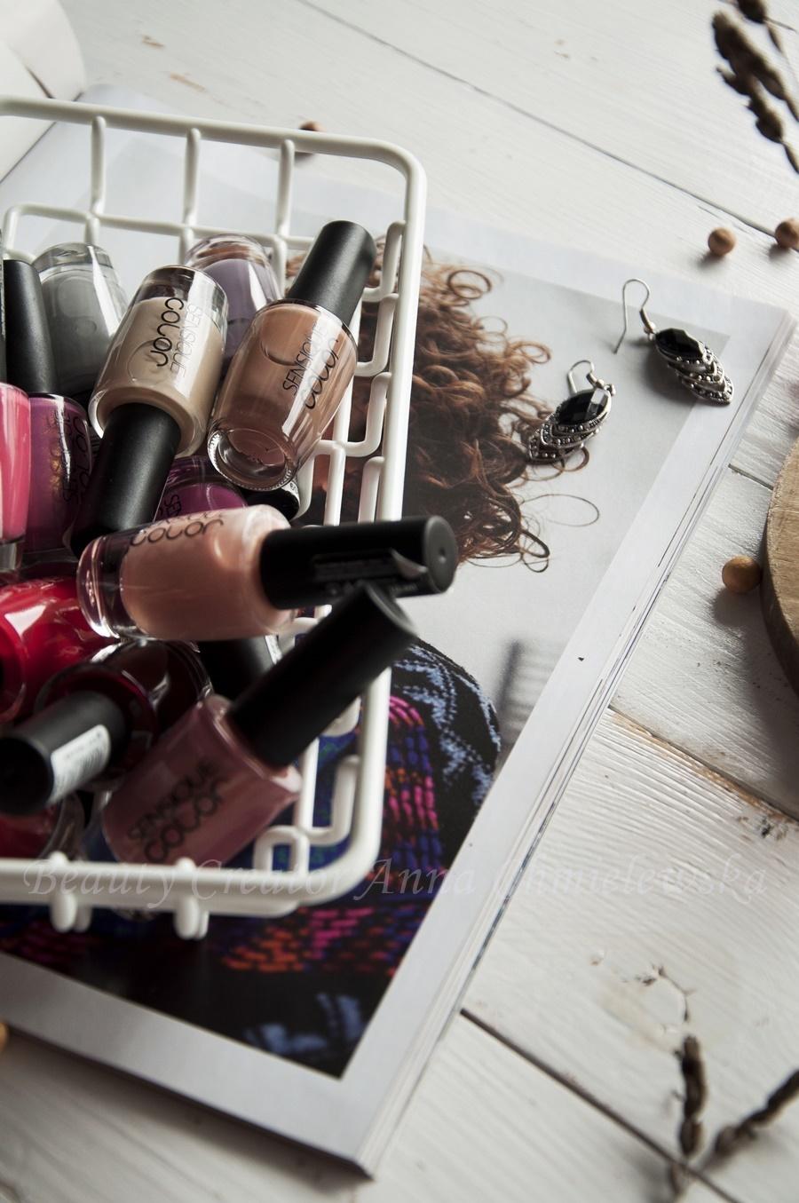 lakiery sensique, lakiery drogeryjne, klasyczne lakiery do paznokci,