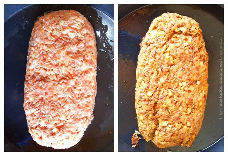 pan de carne rapido jugoso y economico