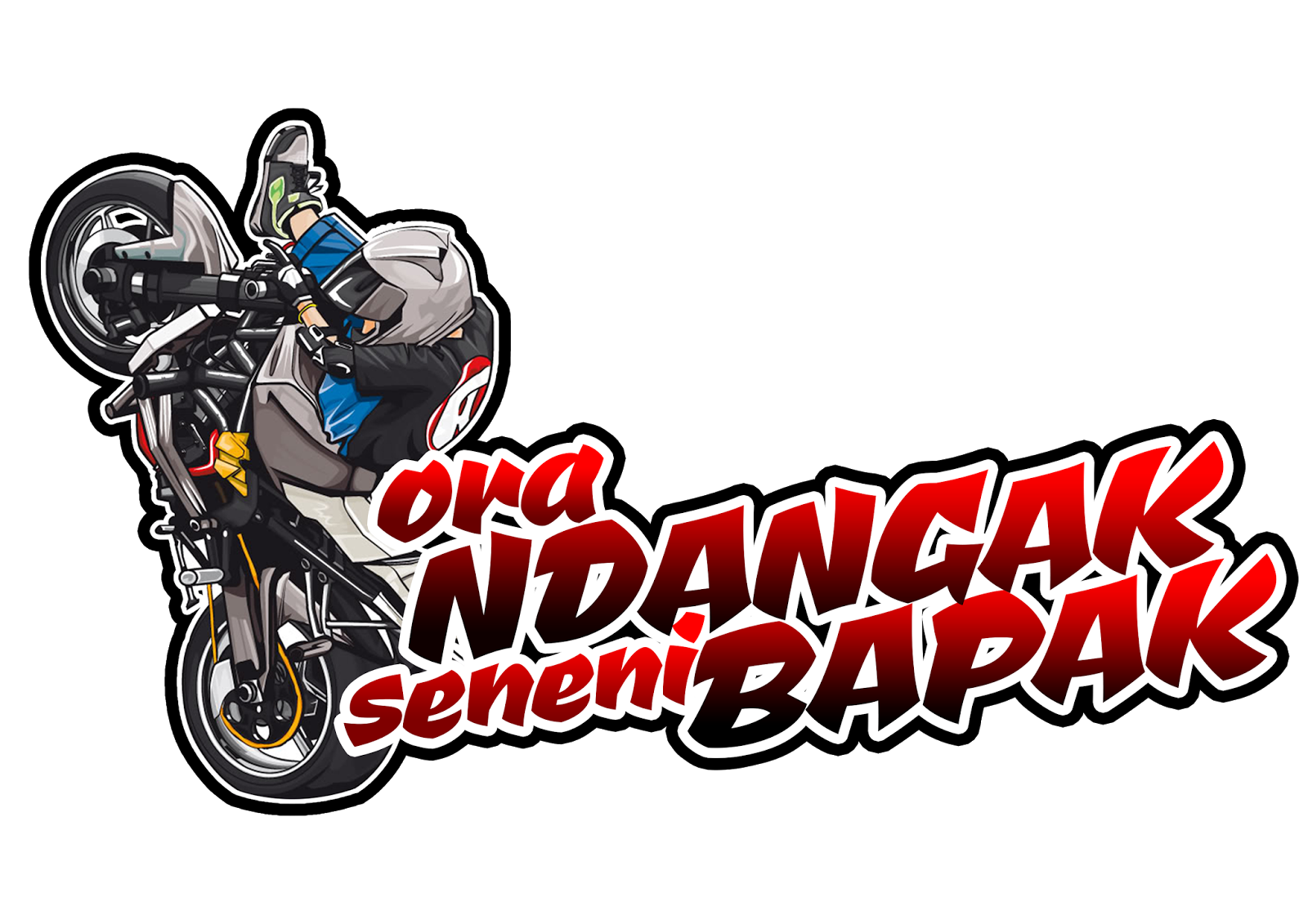 Download stiker racing mary rosh