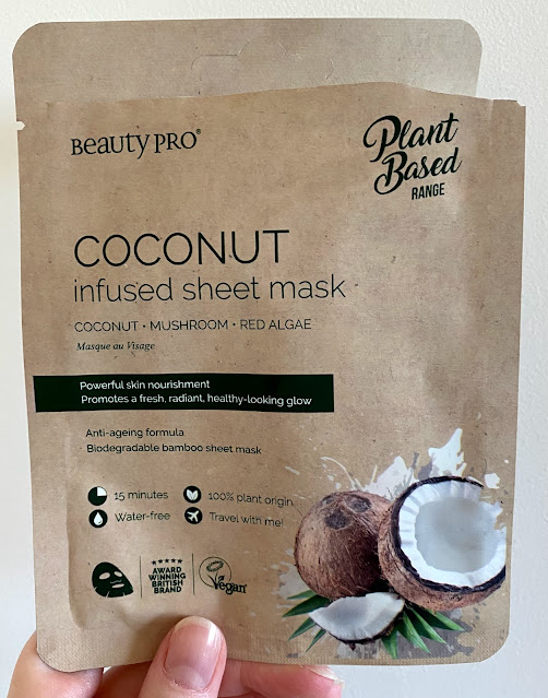 Beauty Pro Coconut Infused Sheet Mask