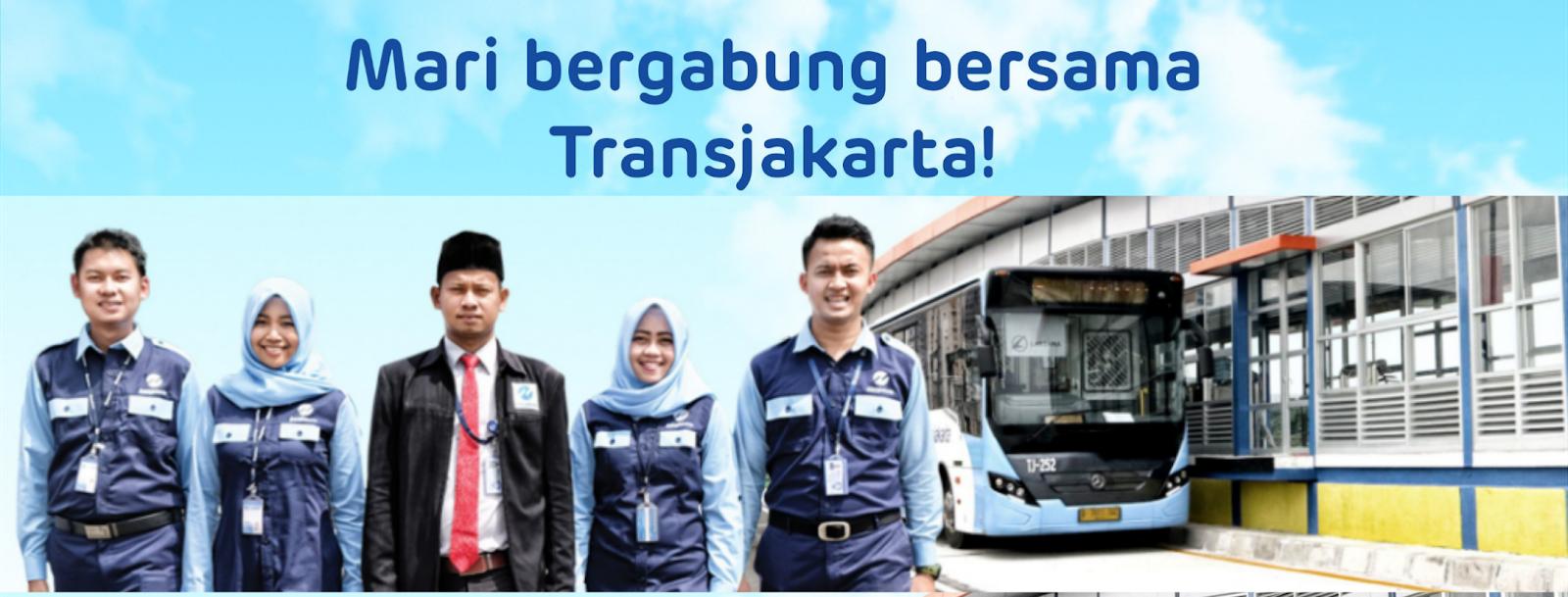Hasil gambar untuk Transjakarta Buka Lowongan Kerja