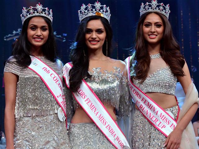 हरियाणा की छोरी बनी एफबीबी फेमिना 'मिस इंडिया 2017'