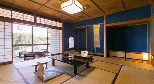 Hoshi Ryokan in Kaga Onsen, Ishikawa Prefecture.