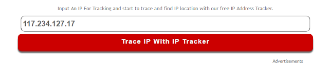 Server Problem Solved - IP Tracker URL Box