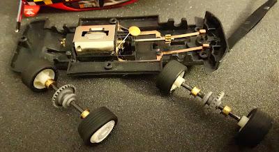 Neumáticos del Mitsubishi Lancer Evo VII Scalextric