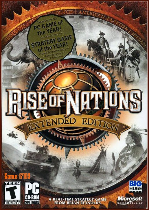 Cover Caratula Rise Of Nations Extended Edition Full PC ESPAÑOL Descargar