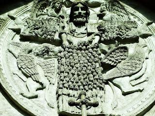 Jesus na Entrada da Catedral de La Plata