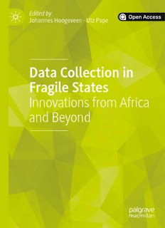 Data Collection In Fragile States: Innovations From Africa And Beyond