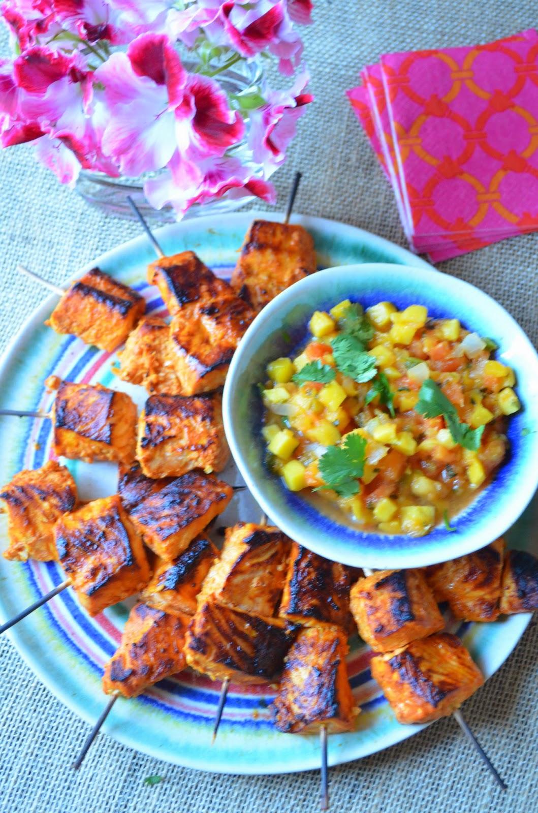 Entertaining From an Ethnic Indian Kitchen Tandoori Fish Tikka