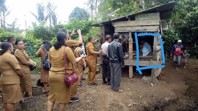 Dievakuasi Setelah 4 Tahun Dipasung, Kadiskes : Sejak 2018, Taput Sudah Bebas Pasung Melalui RSJ