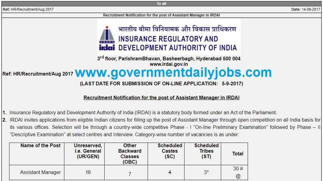 The Insurance Regulatory and Development Authority of India (IRDA) had issued guidelines on corporate.