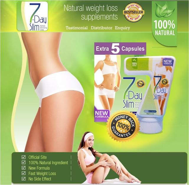 Obat Pelangsing Badan 7 Day Slim
