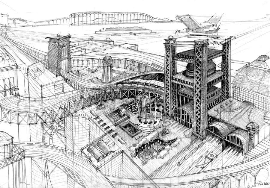 01-Galeria-Gdańsk-Gdańsk-Architectural-Drawings-by-Students-www-designstack-co