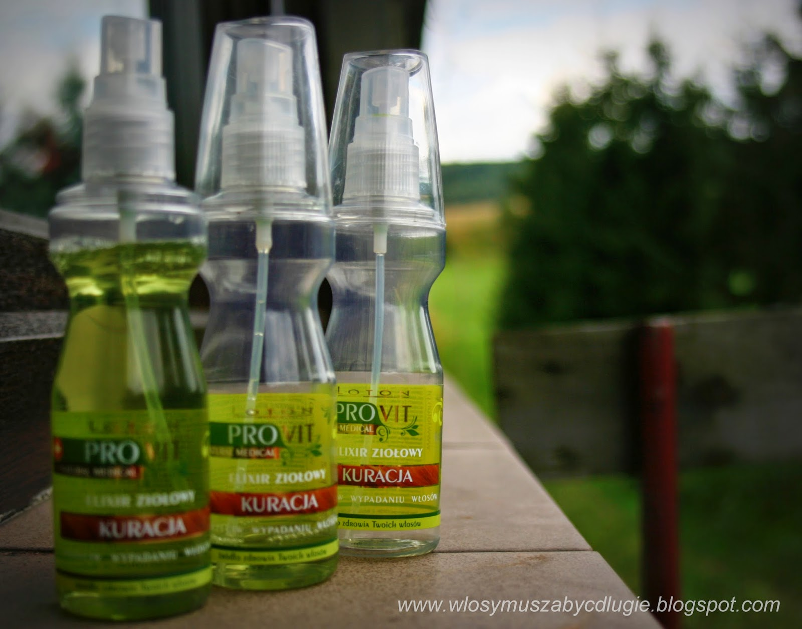 loton provit elixir ziołowy kuracja przeciw wypadaniu włosów