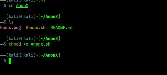 anonx exetuable permission