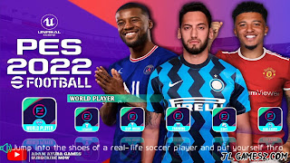 PES 2022 FOOTBALL PPSSPP ANDROID EUROPEUS