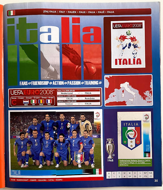 figurine italia euro 2008