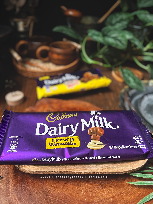 Cadbury Chocolate Dairy Milk French Vanilla