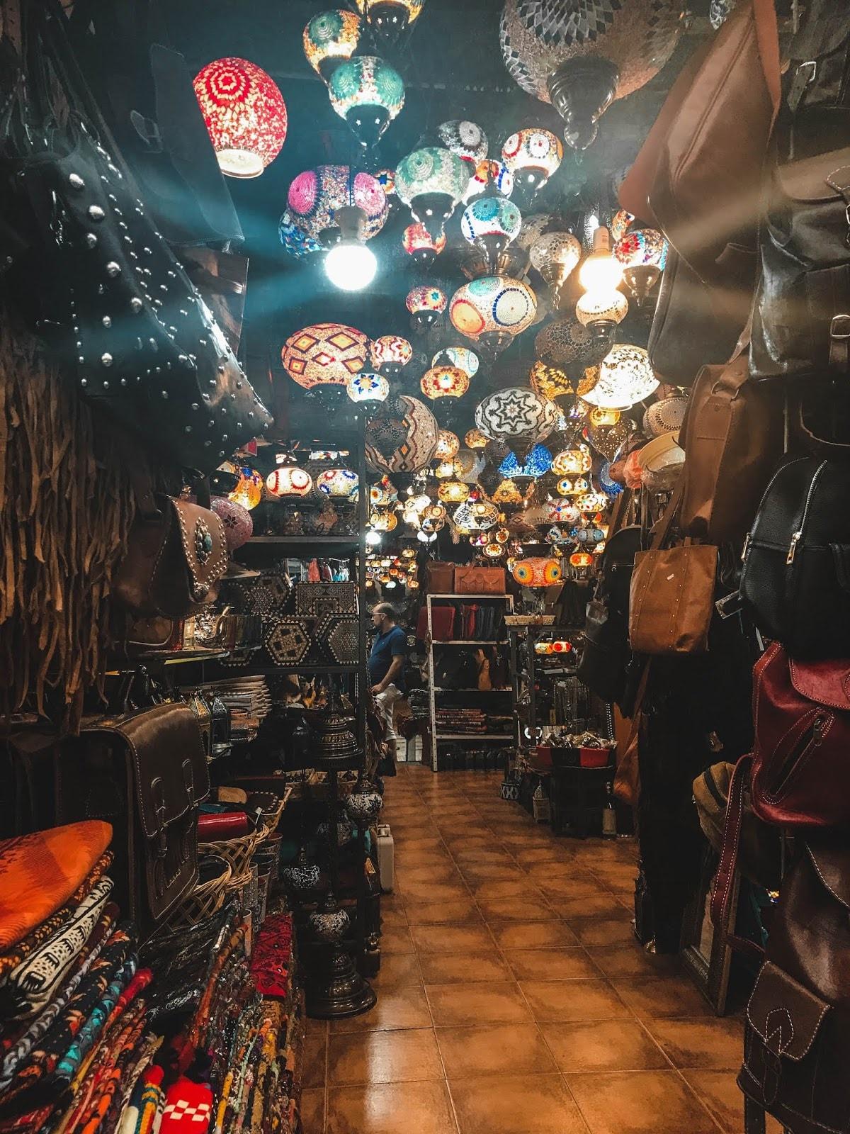 Granada Spain Shopping
